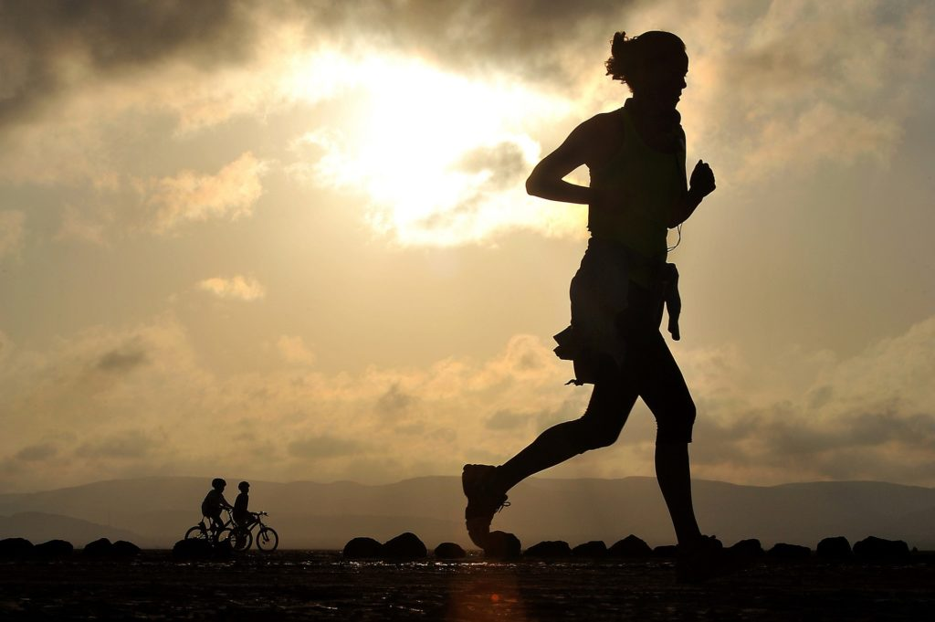 Health benefits of running and jogging